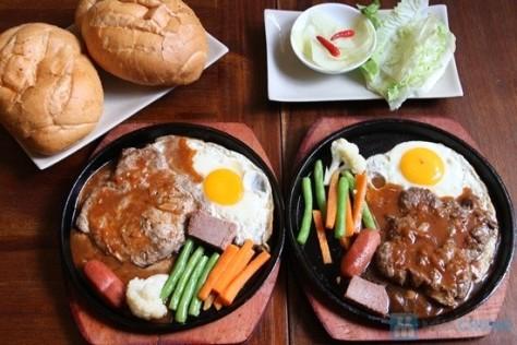 bít tết thịt đà điểu