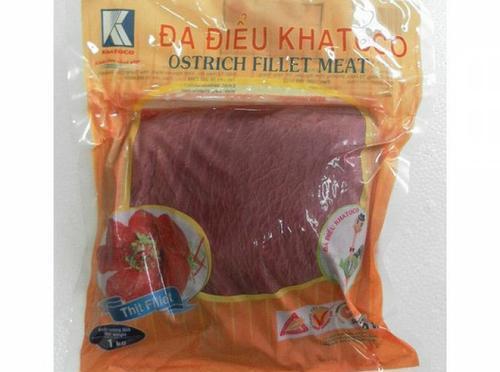 Thịt đà điểu cuộn măng tây